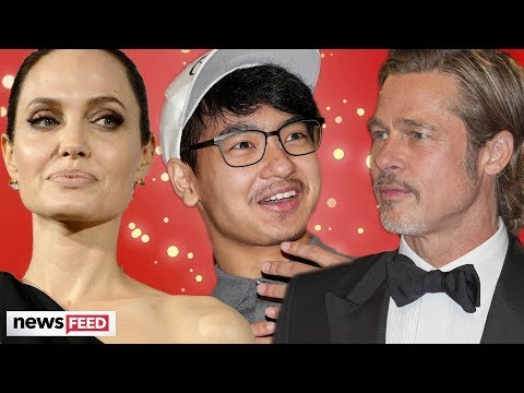 Angelina Jolie & Brad Pitt's Son BREAKS SILENCE On Rocky Relationship With Brad!