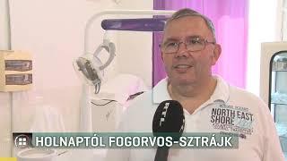 Hétfőtől fogorvos-sztrájk 19-09-01