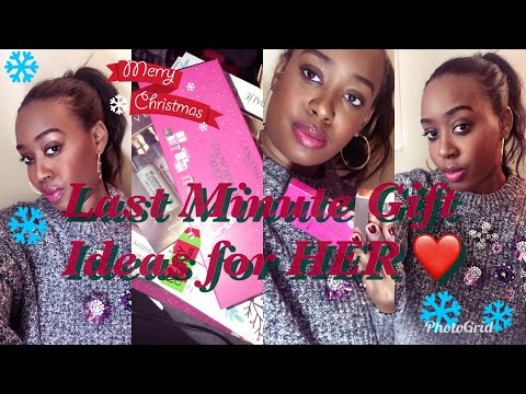 Last Minute Christmas Gifts Ideas for HER! -2017