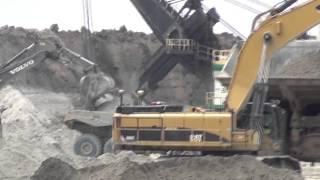 Caterpillar 793 Haul Truck ~ Caterpillar 385C Excavator ~ 4100C Boss Shavel