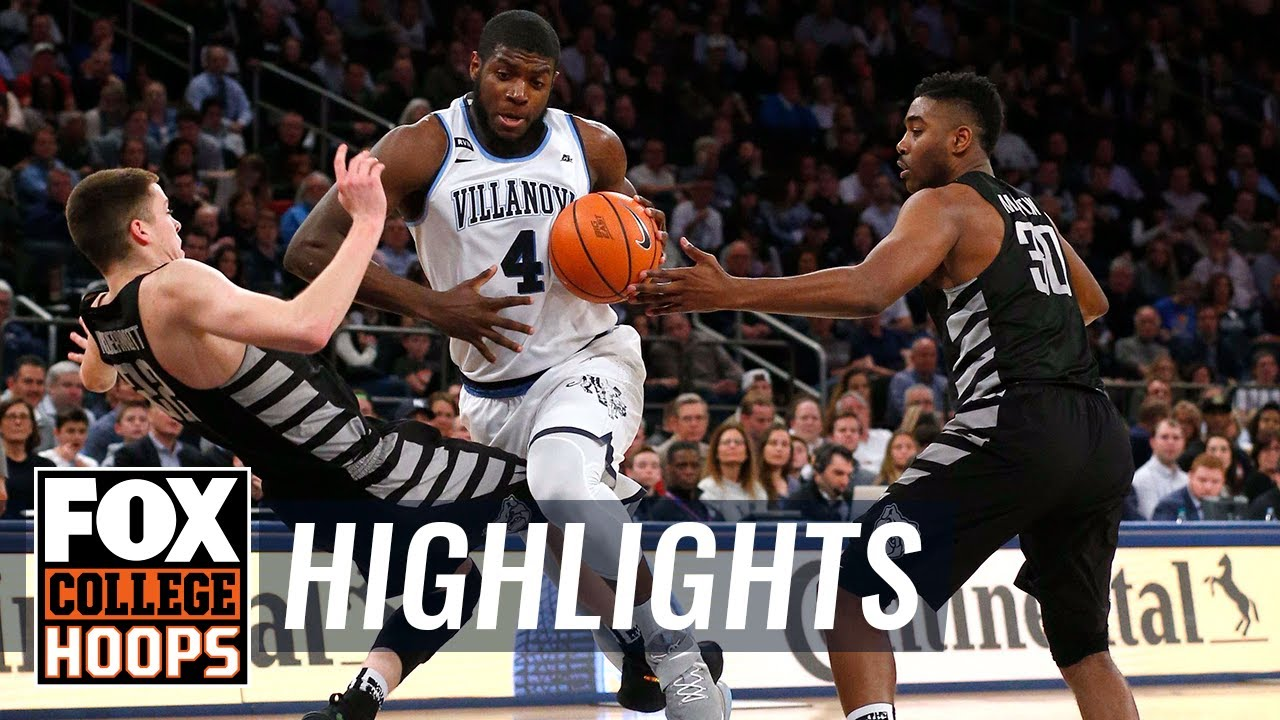 Villanova vs Butler | 2018 Big East Tournament | Highlights