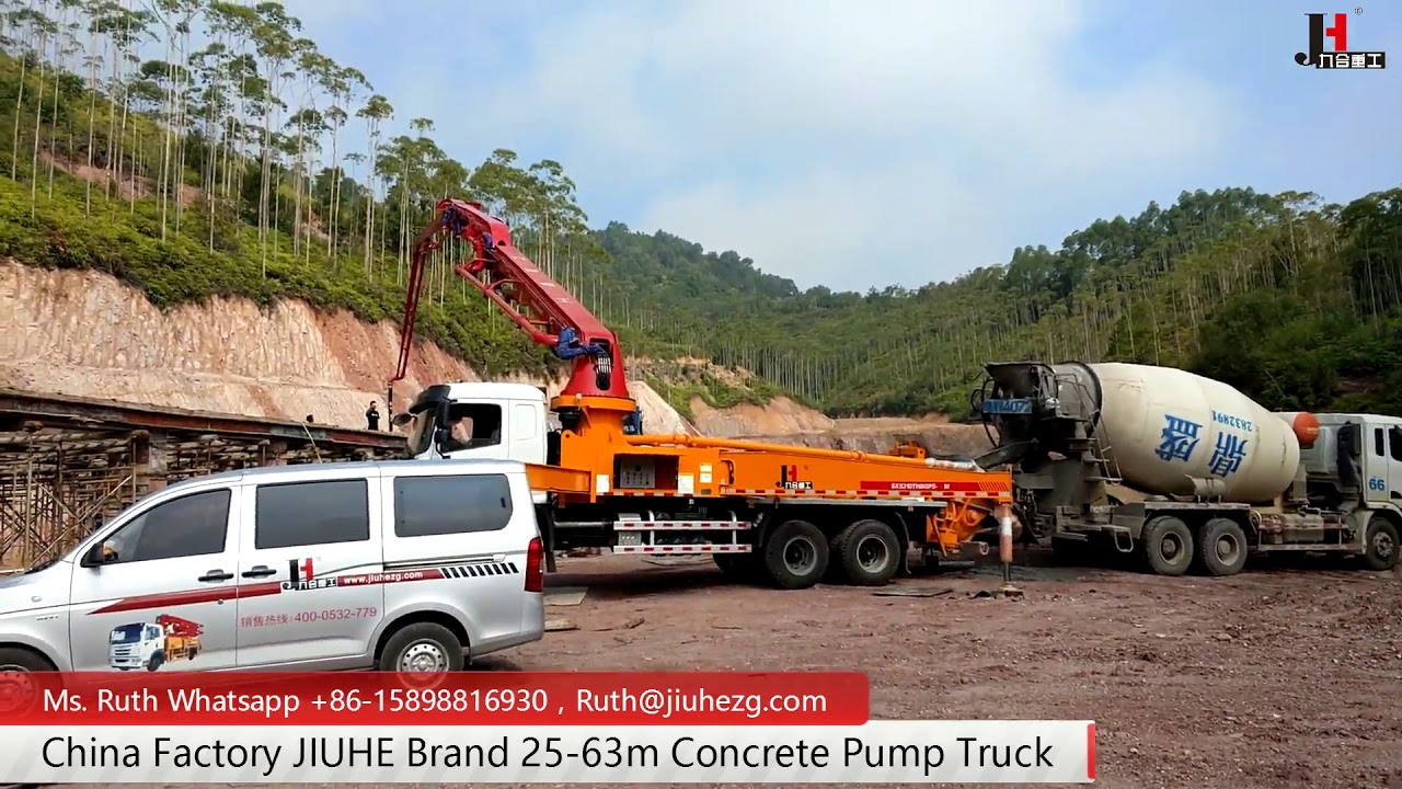 JIUHE Concrete Pump Truck | LinkedIn