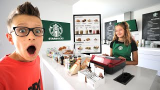 Karina Opens Up her Own Starbucks at Home