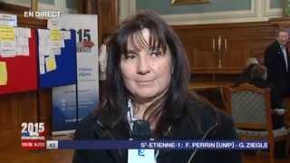 Canton de Vonnas / Ain : Mireille Louis, nouvelle élue DVG