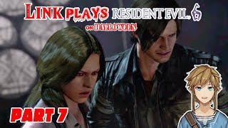 Link plays Resident Evil 6 - part 7 [CENSORED]