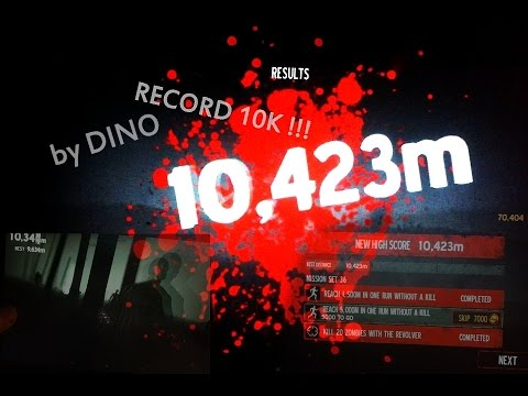 Into The Dead - HIGH SCORE 10.423m NO CHEATS!!! ( 10k, best score ) - GAMEPLAY by Dino -