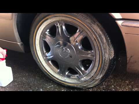 Best Way To Clean Vogue Tires (Tyres)  part 2