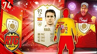 OMG I GOT PRIME RAUL!!! - FIFA 19 Ultimate Team RTG #74