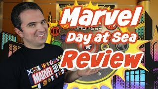 Marvel Day at Sea Cruise Review