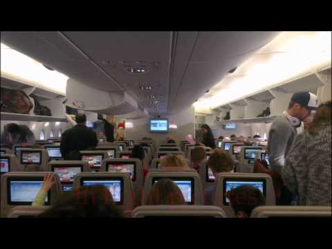 Schiphol - Dubai Intl. Airbus A380-800 Emirates [FLIGHT REPORT] (HD)