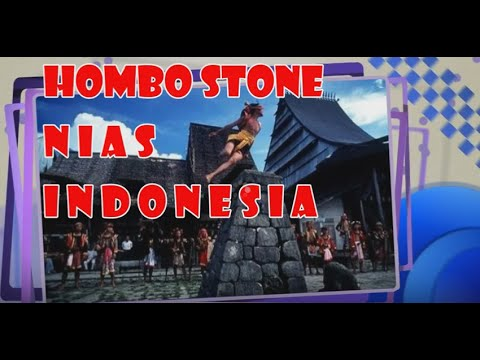 Indonesia Trip : Hombo Stone Nias Indonesia,  Mopon EN