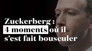Vos CGU craignent  4 moments o Mark Zuckerberg sest fait bousculer au Congrs