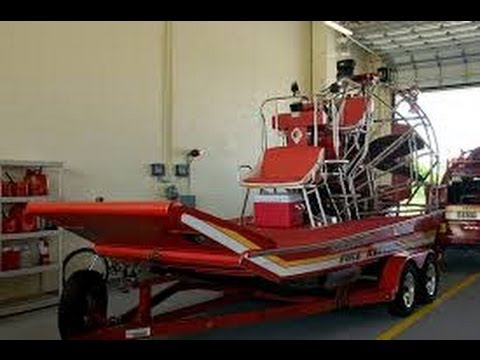 Everglades Airboat Rescue Training