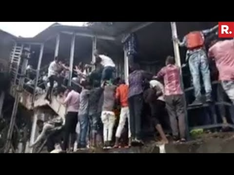 Stampede At Elphinstone Station In Mumbai - 3 DEAD