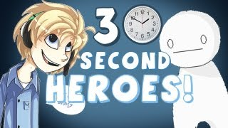 FASTEST GAME EVER?! - Half Minute Hero: Super Mega Neo Climax Ultimate Boy - MultiPlayer Ep. 1