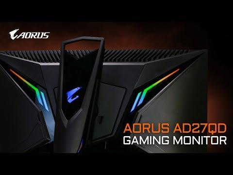 Introducing AORUS AD27QD Tactical Gaming Monitor