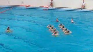 Синхронное плавание. Комби. Кристалл-Электросталь. 05 декабря 2015