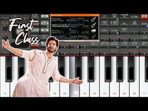 Kalank - First Class | Instrumental Music On Mobile ORG 2019 | Piano Star