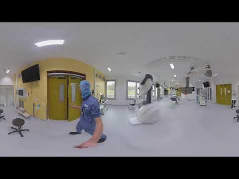 Karolinska Universitetssjukhuset i Huddinge - 360-film