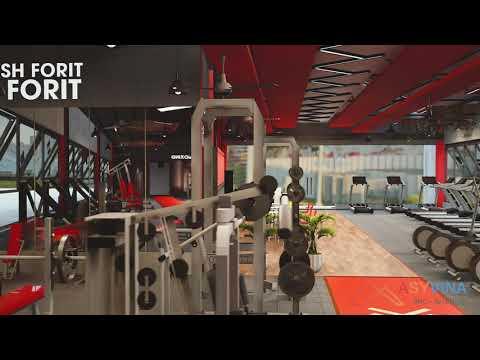 Thiết kế phòng tập Gym 600m2 - Anh Khánh - Củ Chi