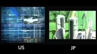 エースコンバット3/ Ace Combat 3 Electrosphere Intro Comparison