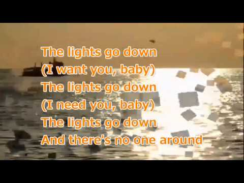 The Lights go Down with lyrics