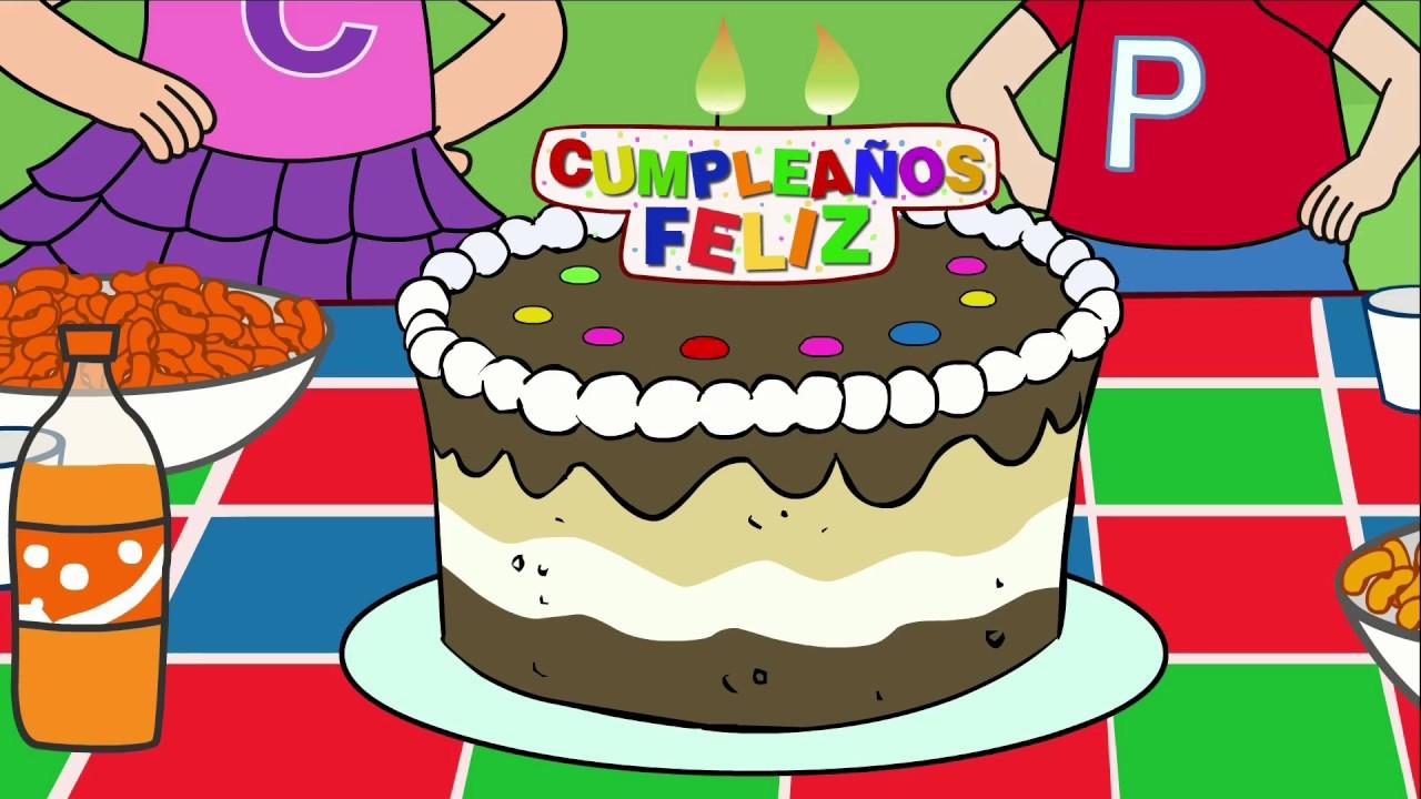 Cumpleaños Feliz Canciones Infantiles En Español Youtube