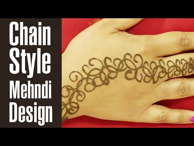 10 Awesome Back Hand Mehndi Designs To Try In 2019
