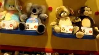 At Build A Bear Making 7 Bears!!! Part 1