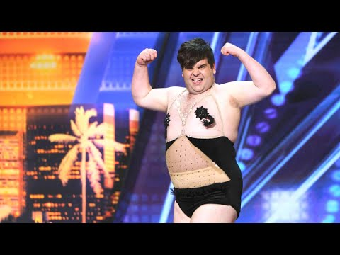 'America's Got Talent': Contestant Dances His Way to 'Accidentally' Falling on His Own Golden Buz…