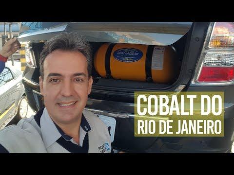 Chevrolet COBALT no KIT GNV 5ª Geração - Direto do RIO DE JANEIRO!