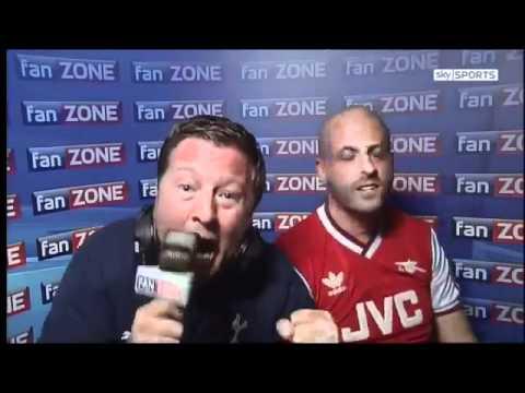 Fan Zone - Tottenham vs Arsenal 2-1 (02-10-11) - YouTube.flv