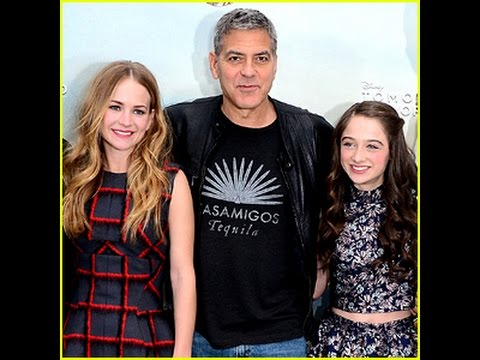 George Clooney's Co-Star Britt Robertson Talks Working with the Mega Star