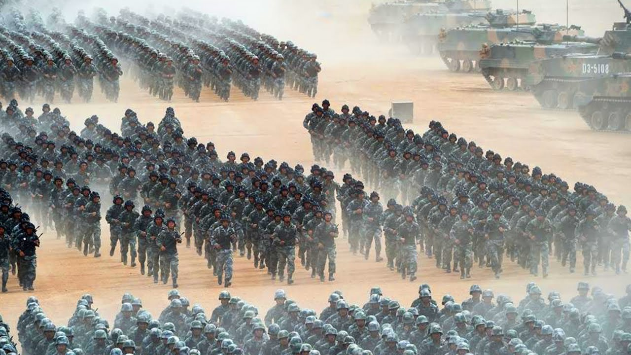 Warning War (Oct 26,2020) Thousand China Soldiers Joins Russian Troops to Against US Military