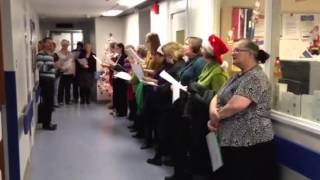Hospital Staff Choir on the wards