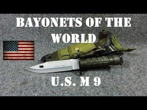 Bayonets Of The World: U.S. M9 Bayonet