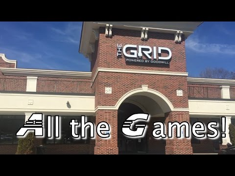 Games & Electronics at 'The GRID Powered by Goodwill' - The Thrift Hole