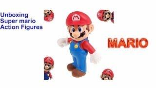 Unboxing : Super Mario action figure
