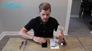 Liquipel - Invisible Screen Protection Application and Demonstration
