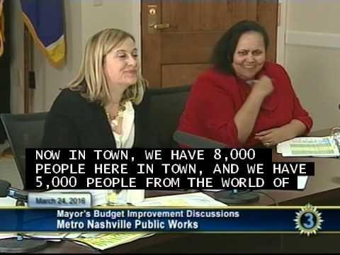 FY17 Mayor's Budget Improvement Discussion - Metro Nashville Public Works 03/24/16