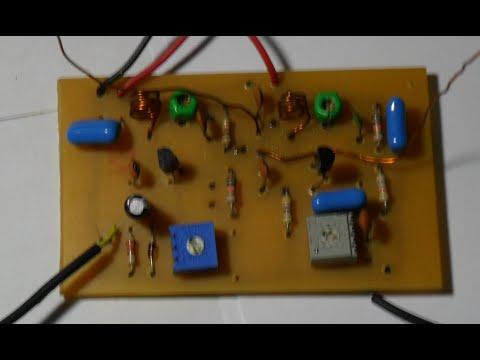 Tv Transmitter Circuit Diagram | Tv Transmitter Youtube