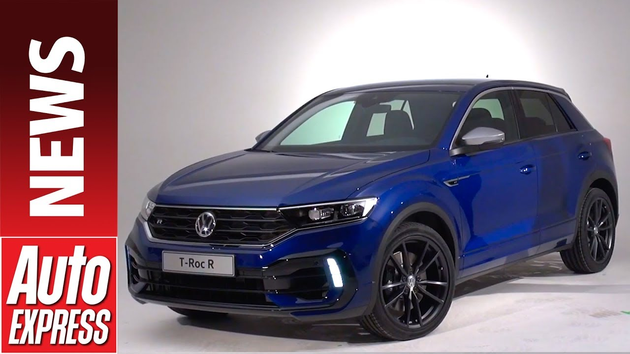 new 2019 vw t roc r meet the 296bhp performance suv. Black Bedroom Furniture Sets. Home Design Ideas