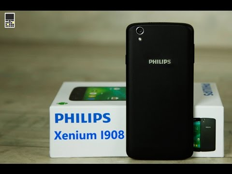 Обзор смартфона Philips Xenium I908 от сайта Keddr.com