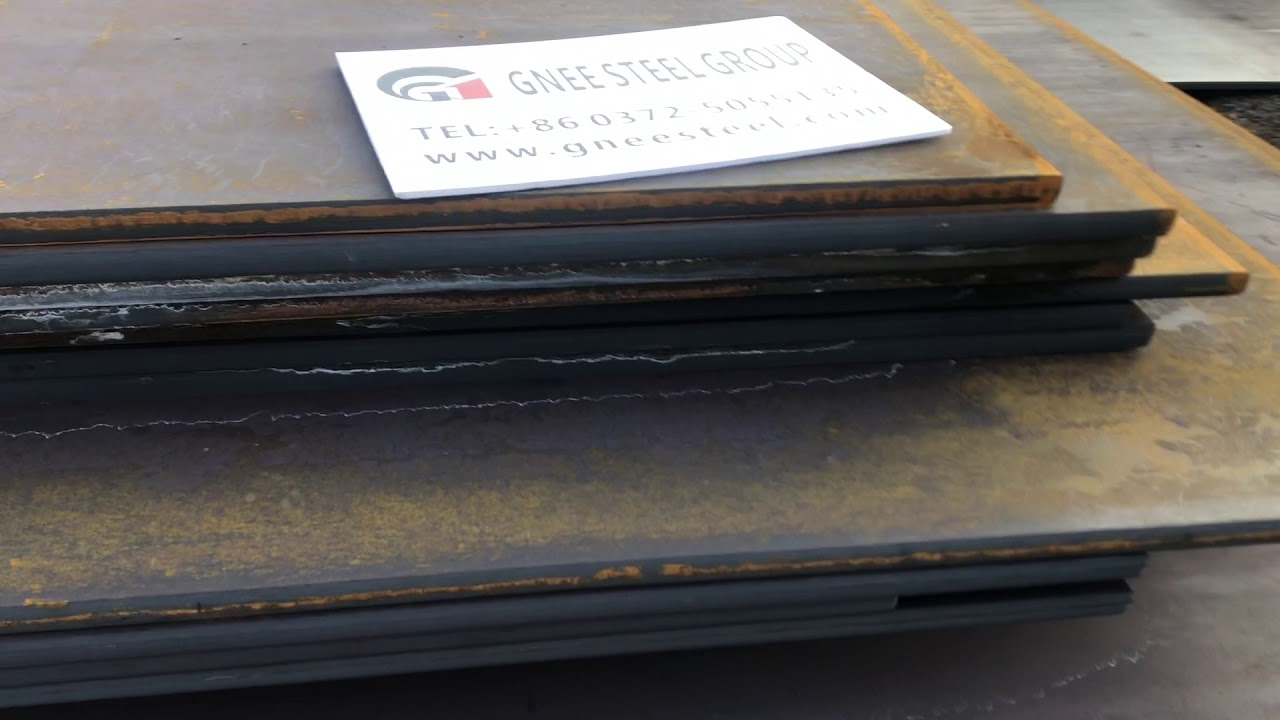 8mm Thickness A588 Corten Steel Plate Youtube