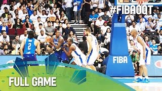 France v Philippines - Full Game - 2016 FIBA Olympic Qualifying Tournament - Philippines
