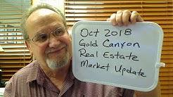October 2018 Gold Canyon, AZ Real Estate Market Update