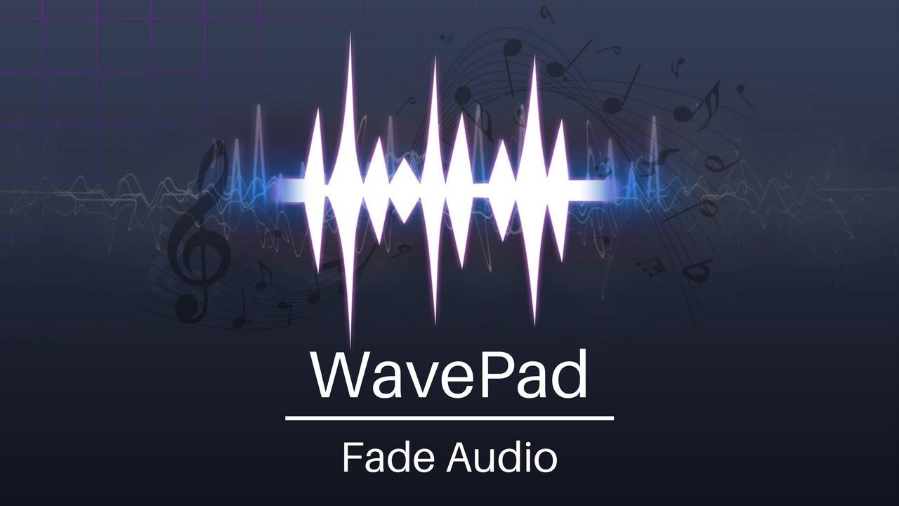 WavePad Audio Editor Tutorial | Fade Audio - YouTube