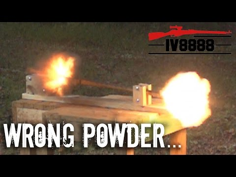 Smokeless Powder in a Muzzleloader?