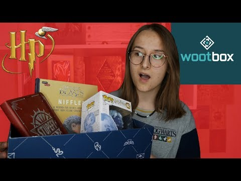 UNBOXING WOOTBOX HARRY POTTER