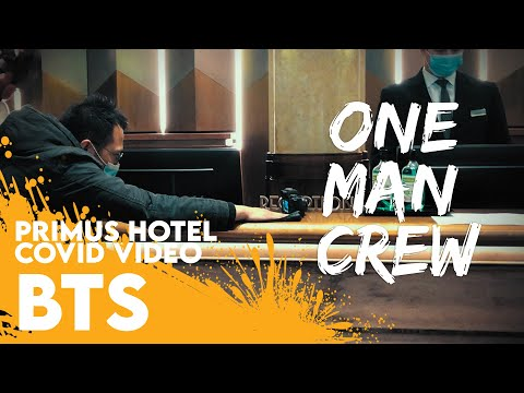 One Man Crew || Primus Hotel Sydney COVID19 Video [BTS]